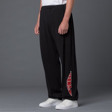 Willy Chavarria Power Cholo Sweatpant - Pirate Black