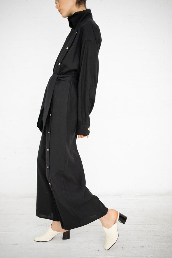e5932201711b Baserange Aorta Linen Cotton Jumpsuit - Black. sold out. Baserange