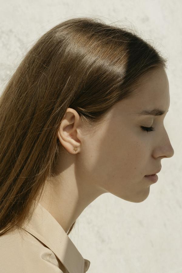 Anne Thomas Allegra Earrings - 18k Gold Filled
