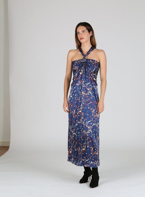 Creatures of Comfort Abigail Dress - MARBLE