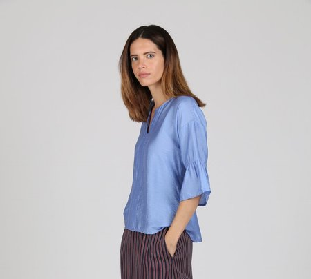 Acoté Blouse - BLUE DENIM