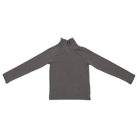 Kids Tambere Long Sleeved Turtleneck T-shirt - Khaki Grey