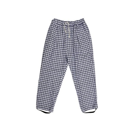KIDS nico nico Clash Stirrup Trouser - Grey Check