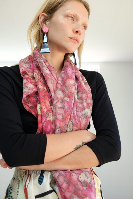 Lina Rennell Beklina Cactus Pear Scarf