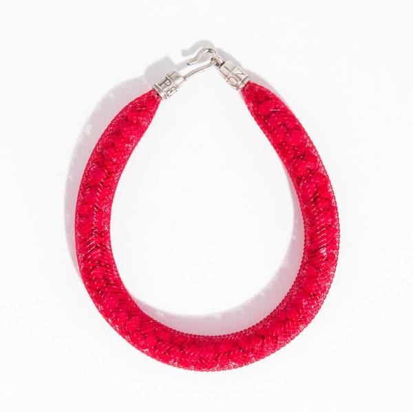 Peppercotton Thick Bracelet - swarovski crystal