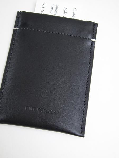 Building Block Card Sleeve - Black