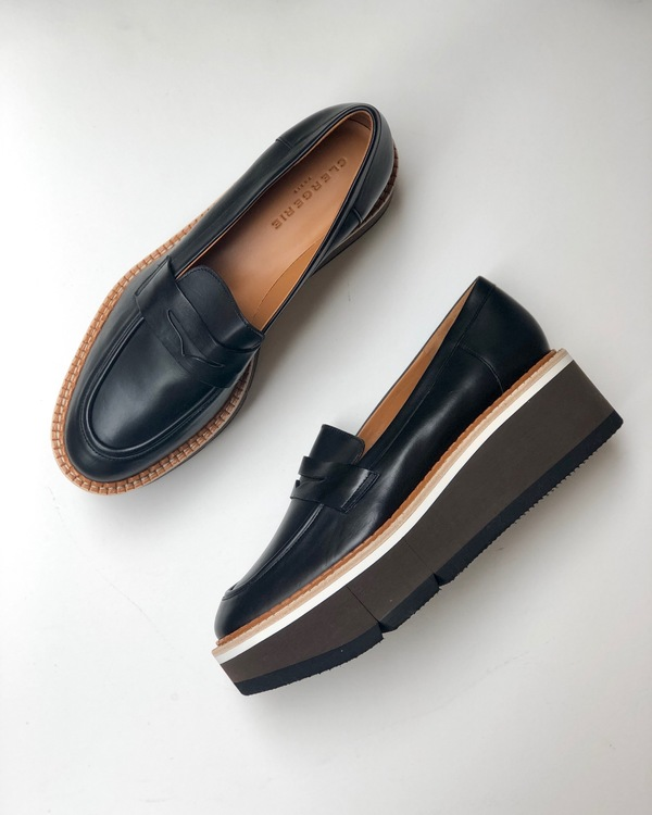 9944bb0c56b Robert Clergerie Benedict Platform Loafers - Black