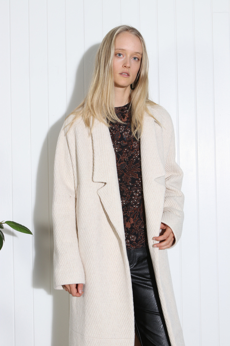 Rachel Comey Stanziac Coat - Off White