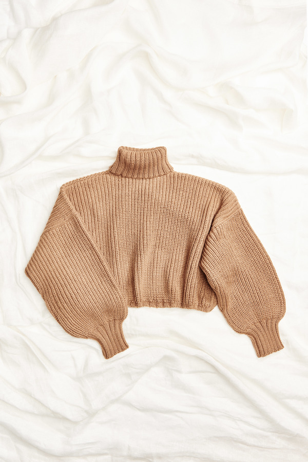 First Rite Crop Turtleneck