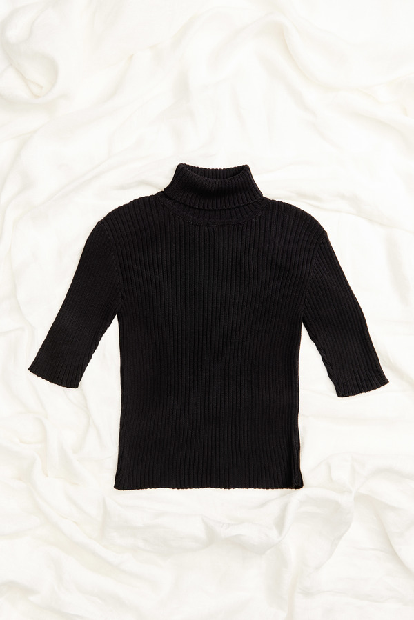 First Rite Rib Turtleneck