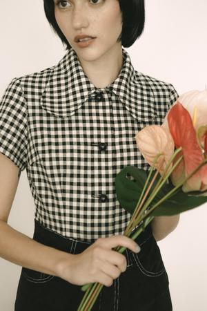 Lykke Wullf Rose Button Up