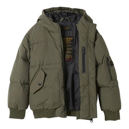 KIDS Finger In The Nose Snowmove Down Winter Jacket - City Khaki