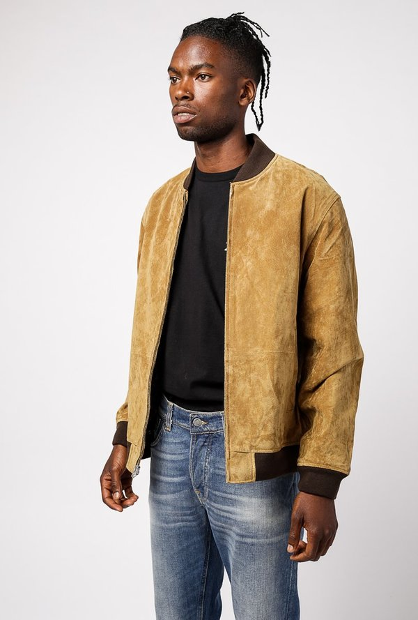 9b31ac88347f Obey Clifton Leopard Suede Jacket - tapenade. sold out. Obey