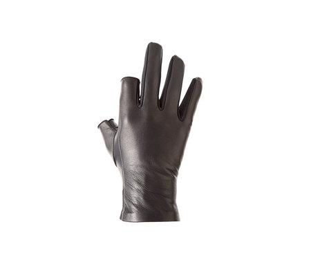 Unisex AH, OKAY! Two Layers Glove - black
