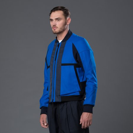 Abasi Rosborough Arc Flight Jacket - Azure Blue