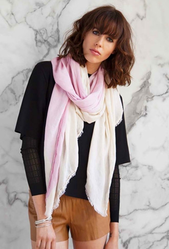 A Peace Treaty Sharqui Scarf Pink