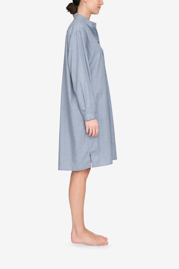 AMM x The Sleep Shirt Long Sleep Shirt - Cashmarello Check | Garmentory