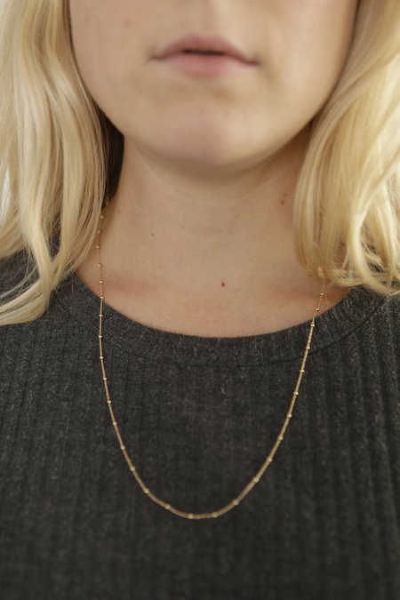 Tidy Street General Store Ball Chain Necklace - Gold