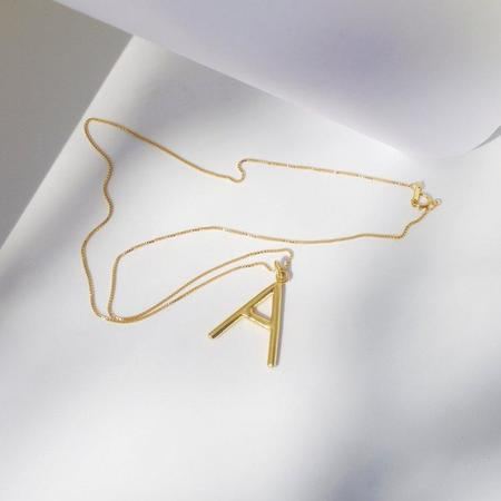 Eleventh House Initial Necklace