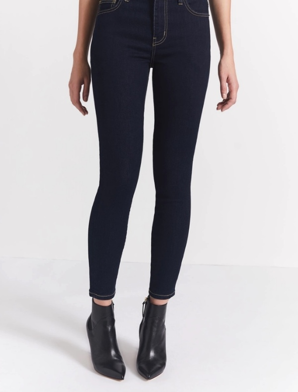Current/Elliott High Waist Stiletto Jean - Clean