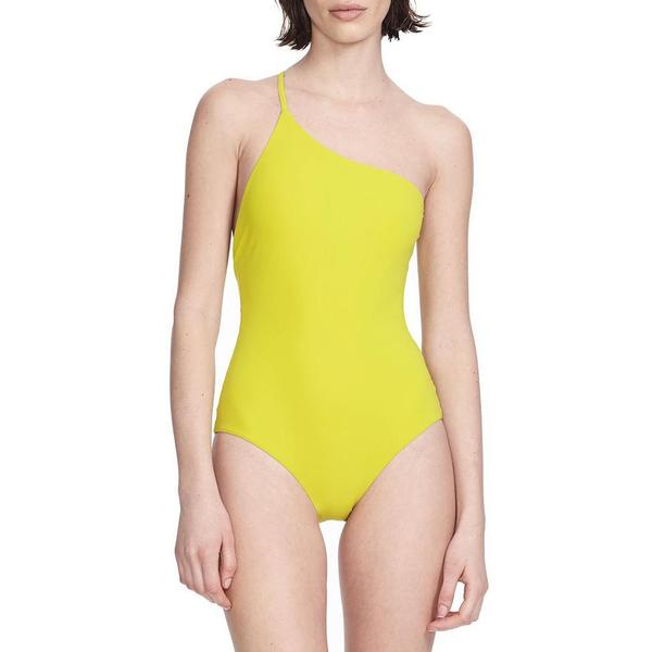 0f9ad07eabe89 Alix Seville one piece - lime/ivory   Garmentory