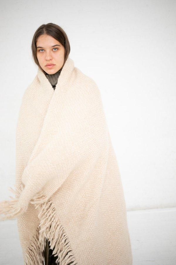 Lauren Manoogian Handwoven Brushed Blanket