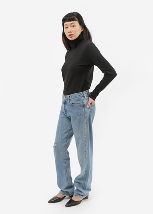 Kowtow Building Block Rib High Neck Top