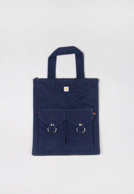 hidden Super Shopper Bag - blue
