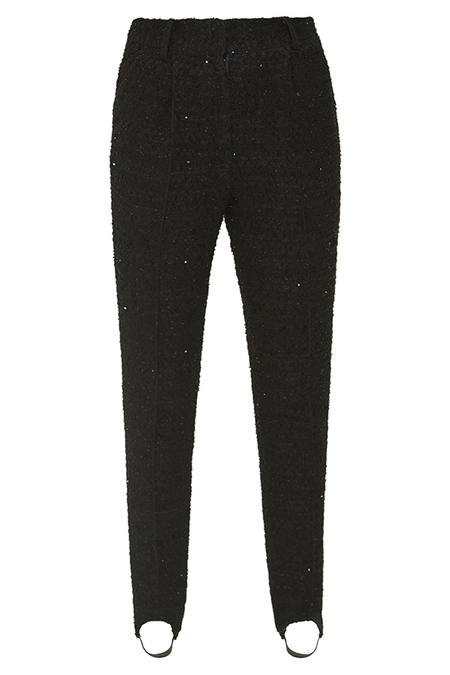 DESERT MANNEQUIN x N-DUO Stirrup trousers - black