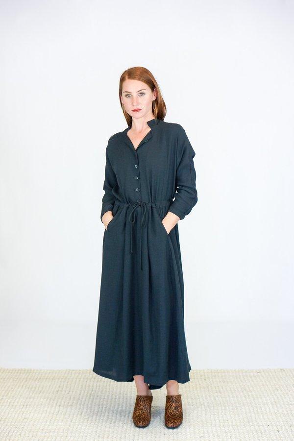 3cbc53657f Black Crane Classy Dress - Dark Green