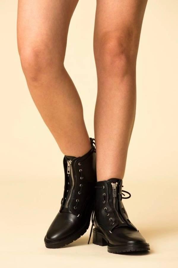 24771198768 Rag & Bone Cannon Boot - Black