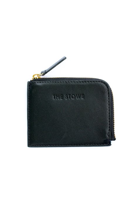The Stowe Card Wallet - Black