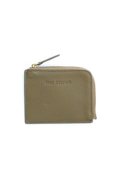 The Stowe Card Wallet - Olive