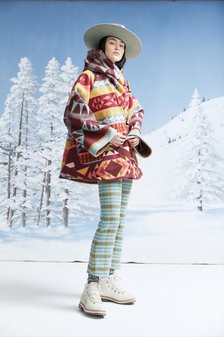 Lindsey Thornburg + Pendleton Trench Cloak - Point Reyes