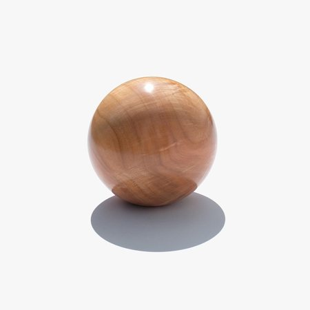 Bruce Perlmutter Hand Lathed Maple Orb