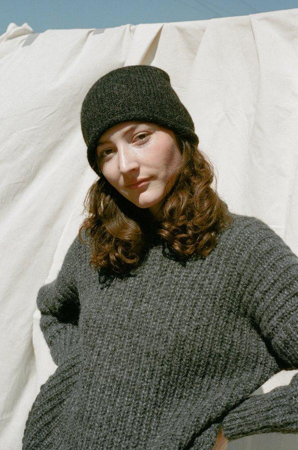 Lauren Manoogian Crown Beanie