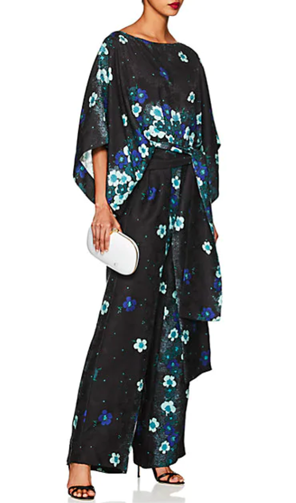 360fe84a6b2ce0 Warm NY Layla Jumpsuit - Black/blue   Garmentory