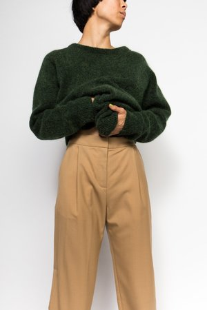 Norse Projects Disa Wool Trouser - CAMEL