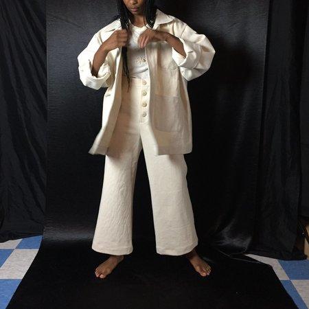 Unisex Laurs Kemp Chore Jacket - Off White