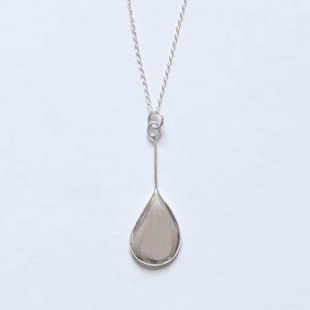 BAR JEWELLERY Melt Necklace - Silver