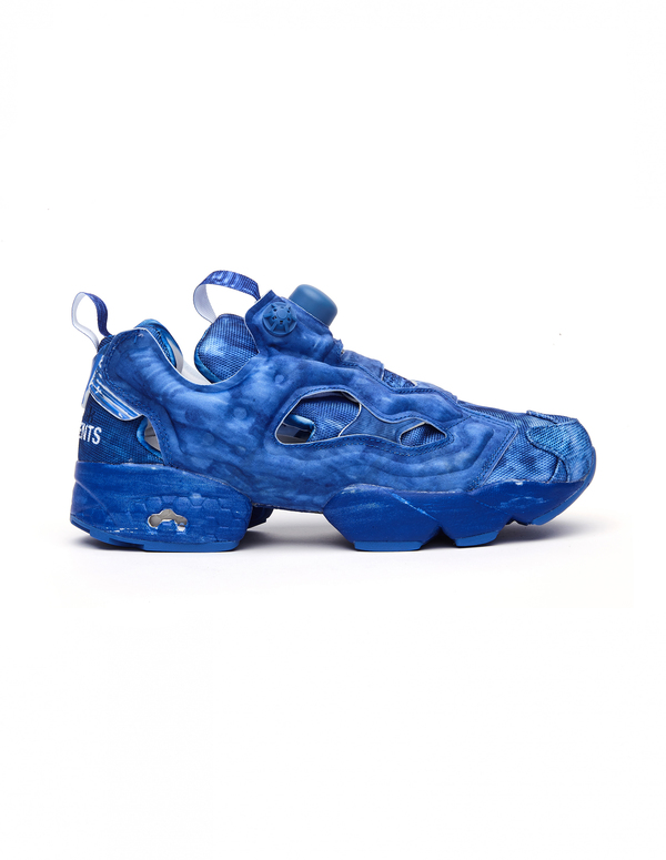 f32c9045d768 Vetements Reebok InstaPump Fury Blue Sneakers