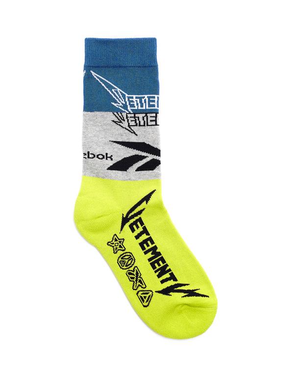 11c2bcceebd0 Vetements Reebok High Top Socks