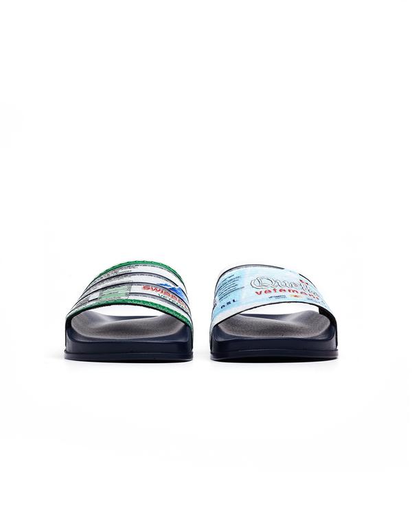 exclusive deals best service amazon Vetements Printed Slides - Navy Blue
