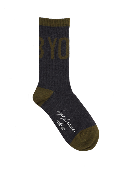 Yohji Yamamoto Cotton Socks - Grey