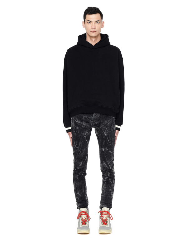 f99f1bfe Fear of God Selvedge Denim Holy Water Jeans - Black | Garmentory