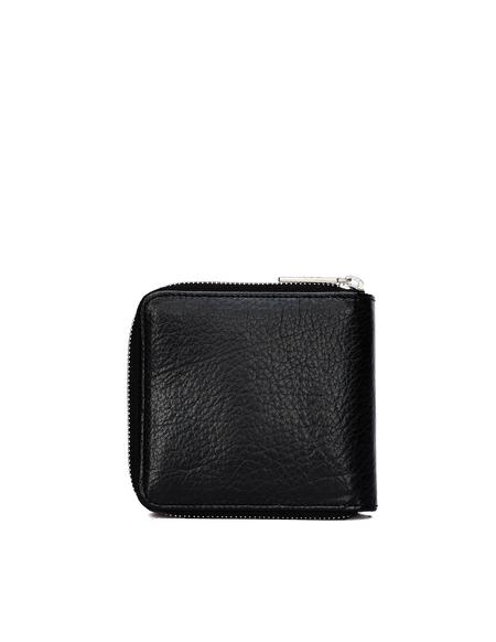 Yohji Yamamoto Leather Wallet - Black