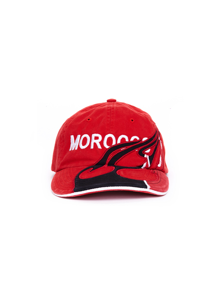 Vetements Embroidered Morocco Cap - Red