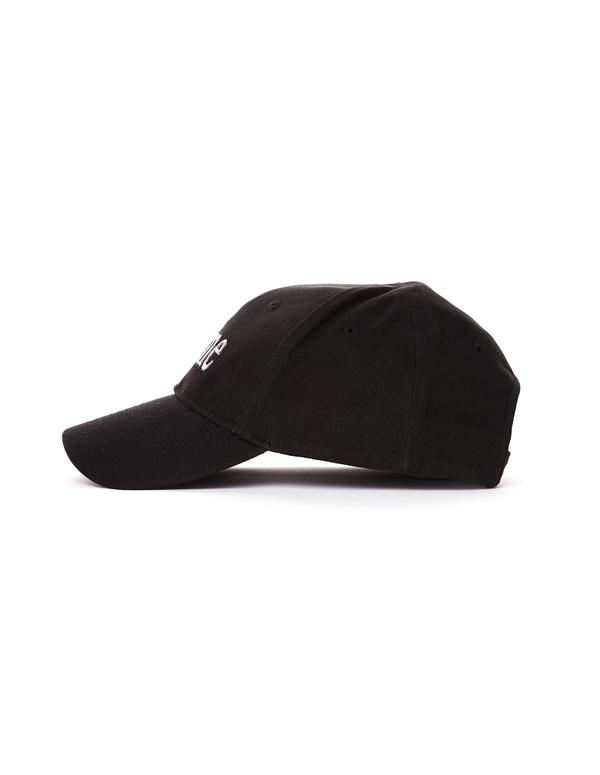 5d26607587063b Balenciaga Femme Embroidered Cotton Cap - Black. sold out. Balenciaga
