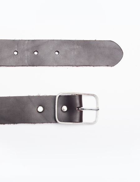 Amaury Leather belt - BROWN