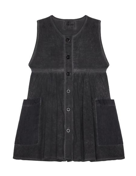 Kids Lost&Found Cotton Dress - Gray
